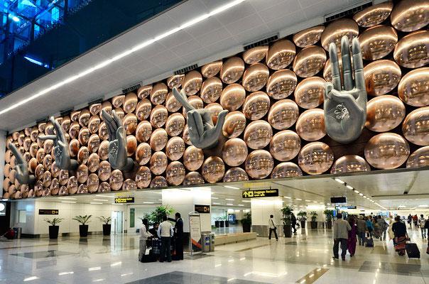 Flughafen in Delhi