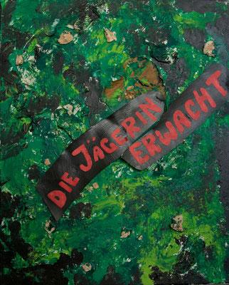 Acryl auf Leinwand 40x50  Foto: Eve Schimmer