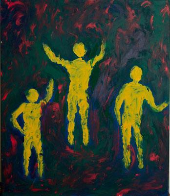 Acryl auf Leinwand 50x60  Foto: Eve Schimmer