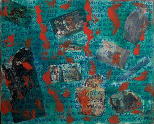 Acryl auf Leinwand 50x40  Foto: Eve Schimmer