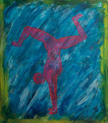 Acryl auf Leinwand 70x80  Foto: Eve Schimmer