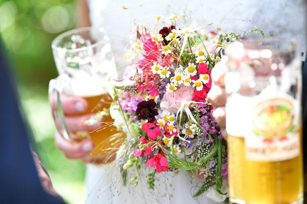 Impressionen der Hochzeitsfeier in Frauenalb