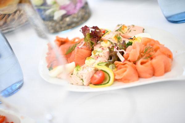 Speisen zur Hochzeit im König von Preussen bei Ettlingen