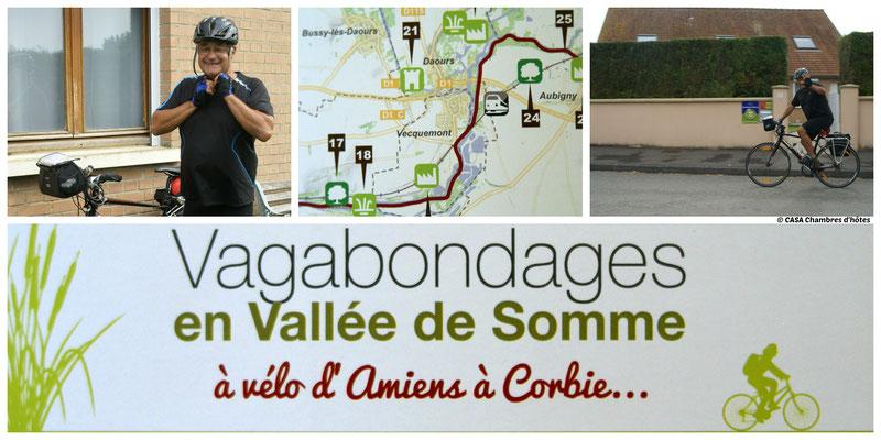 CASA Chambres d'hôtes Amiens-Corbie-Val de Somme-Villers Bretonneux-B&B < Véloroute Vallée de la Somme
