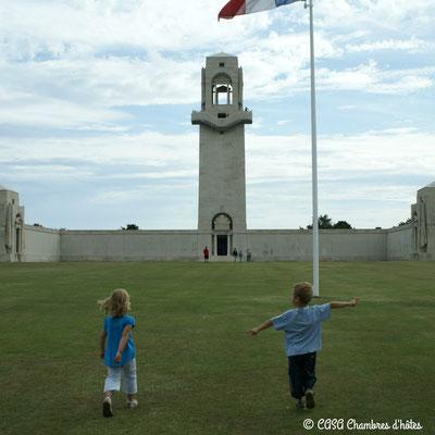 CASA Chambres d'hôtes Amiens-Corbie-Villers Bretonneux-B&B < Mémorial National Australien Villers-Bretonneux