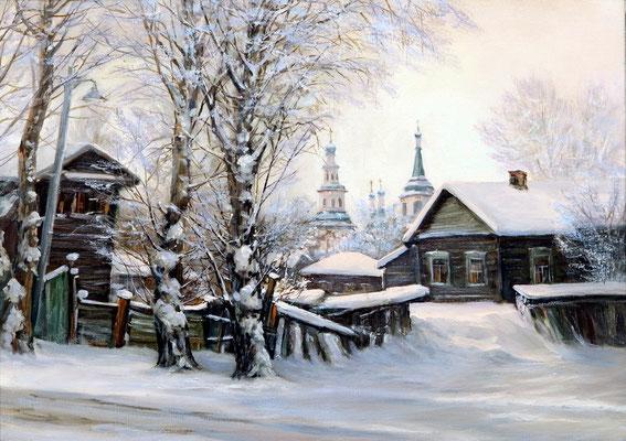 """ Иркутск"" холст,масло 50х70 2014"