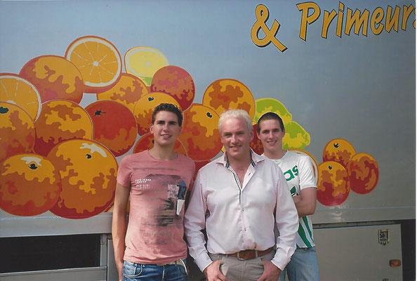 Foto: Dicky, Hans en Bart