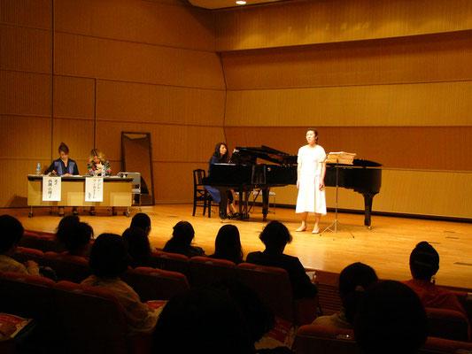 イタリア声楽協会第6回コンサート・在原勝先生追悼 2019年3月21 ...