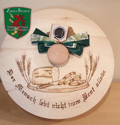 Zirben Brotdose