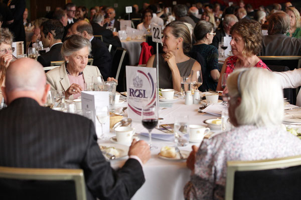 Guests and corporate tables at the Commonwealth Day lunch