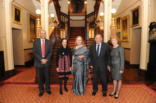Her Excellency, Prof Marie Bashir AC CVO, Governor of NSW hosts a special reception for the Secretary-General of the Commonwealth, Mr Kamalesh Sharma