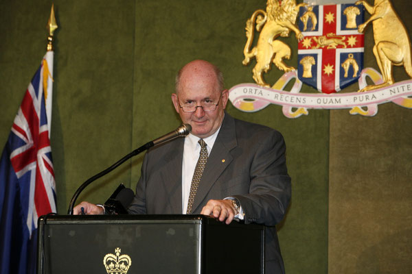 General Peter Cosgrove AC, AM former head of Australian Defence Forces as guest speaker for Commonwealth Day in 2008
