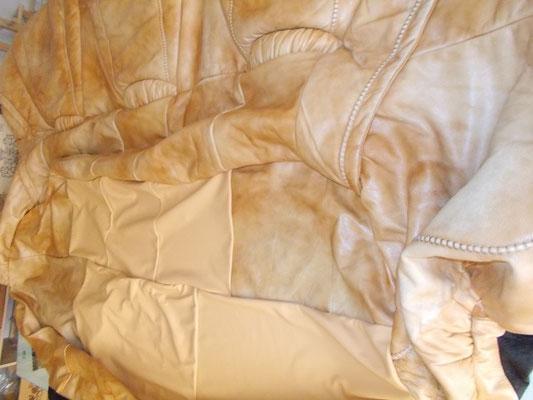 Canapé cuir rénavation