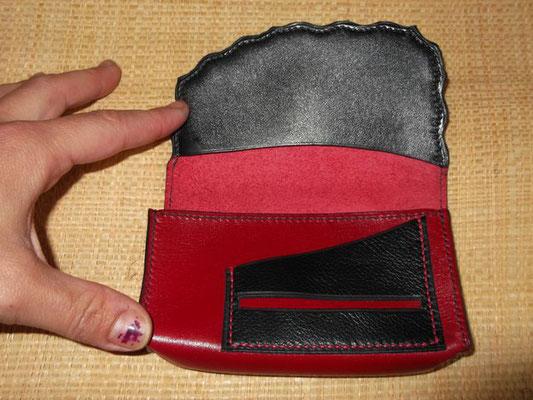 Blague à tabac Cuir veau cousu main (Sellier) modèle unique 60 €