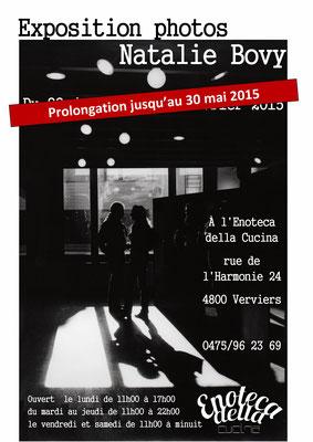 Natalie Bovy -  Exposition Clair-Obscur à Verviers