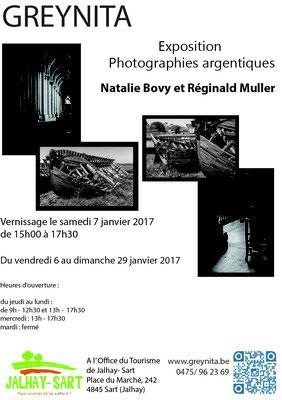 Natalie Bovy - Reginald Muller -  Exposition à l'Office du Tourisme de Jalhay