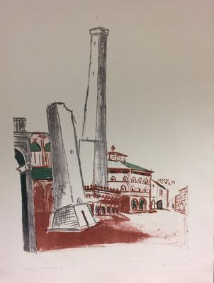 Bologna, Otto Eberhardt, 1957, Lithografie, Papier, 41x58, ID1240