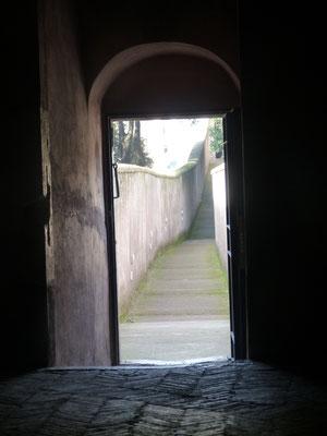 Fluchtweg von Castel San Angelo