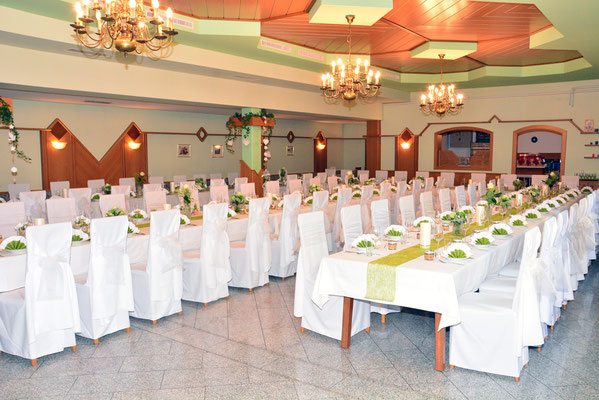 Gasthof Wagner, Hochzeitstafel