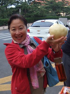 China ist gross, also sind auch die Birnen grösser