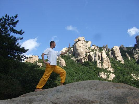 im Laoshan-Gebirge