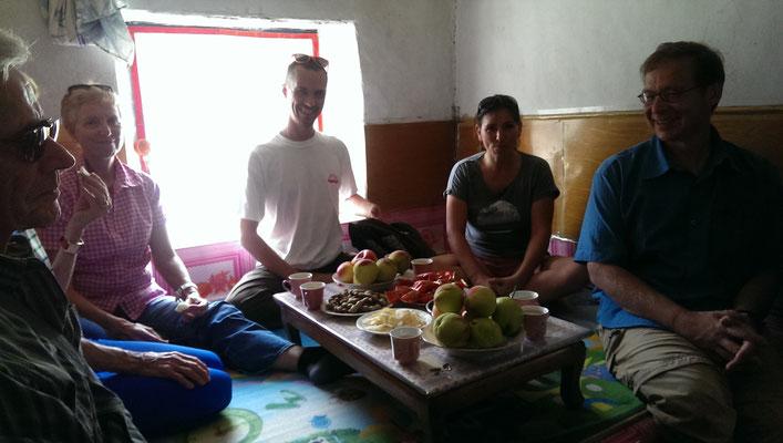 Besuche beim Bauern