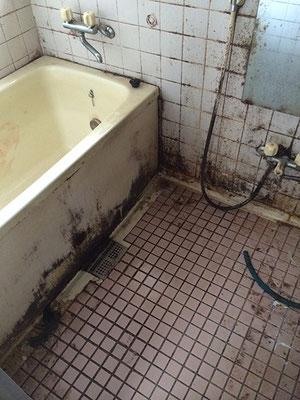 浴室・お風呂場の洗浄前|お掃除ハウス新潟【阿賀野市】