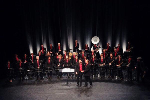 L'orchestre et ses chefs Alain et Kevin