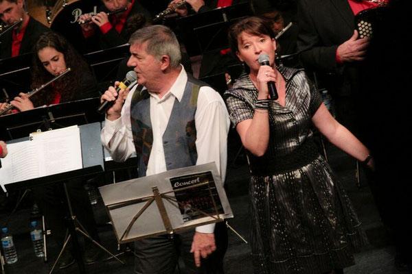 Christine et Hervé de Che Calda Voce
