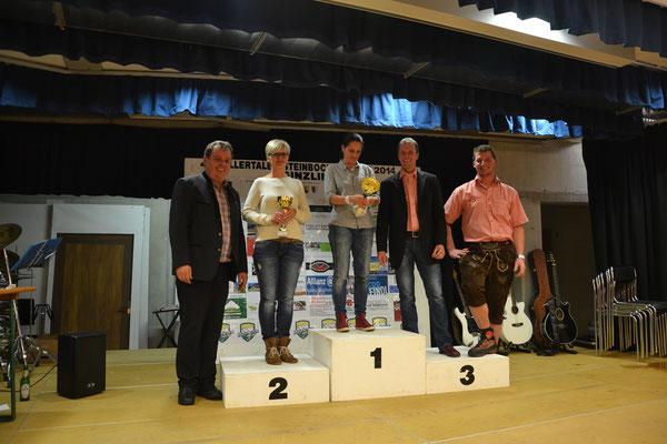 Rang 1: Klausner Inge - Rang 2: Huber Gabi