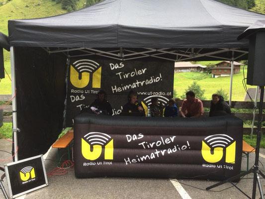 Radio U1 berichtete Live vom Zielgelände in Breitlahner!