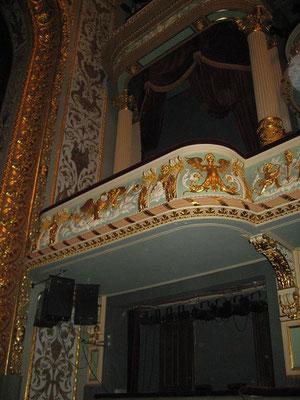 ラトビア、リーガ ラトビア国立劇場 VIP席 2008年2月17日 志摩園子氏撮影
