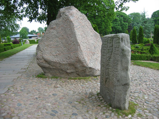 デンマーク、イェリング近郊 2003年6月8日 松村一氏撮影