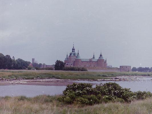 カルマル城     1992年7月 松村一氏撮影   スウェーデン南部にある城 1397年の北欧三国によるカルマル連合成立の舞台となった