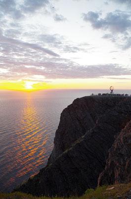 ノールカップからバレンツ海を望む  2018年9月 松村一氏撮影
