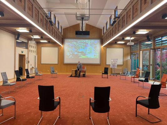 """der unglalblich schöne Seminarraum:"""" DenkRaum"""", lässt die Seminarthemen leicht werden."""
