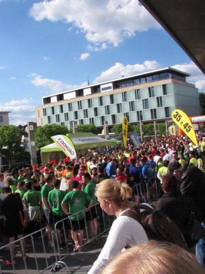 Fitte Mitarbeiter, City-Lauf, B2B-Run, Mitarbeiterevent, Teamevent, BGM
