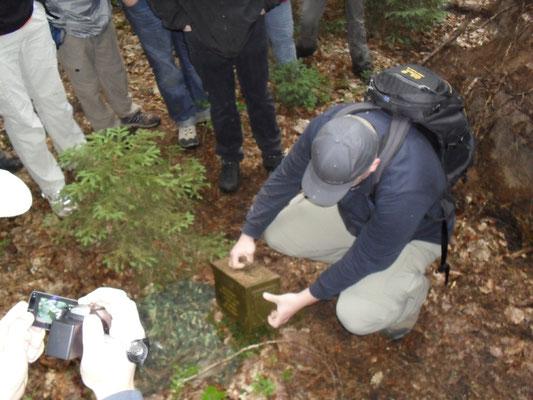 Geocaching, Pfälzer Wald, Mitarbeiterevent, Teamevent