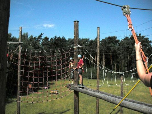 Klettergarten, Mitarbeiterevent, Teamevent