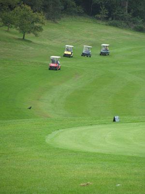 Golf Schnupperkurs, Mitarbeiterevent, Teamevent