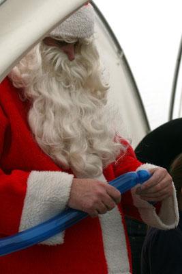Weihnachtsbaumschlagen, Nikolaus