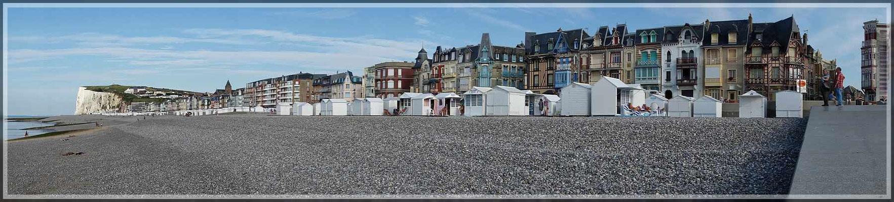 Blick auf Mers-les-Bains