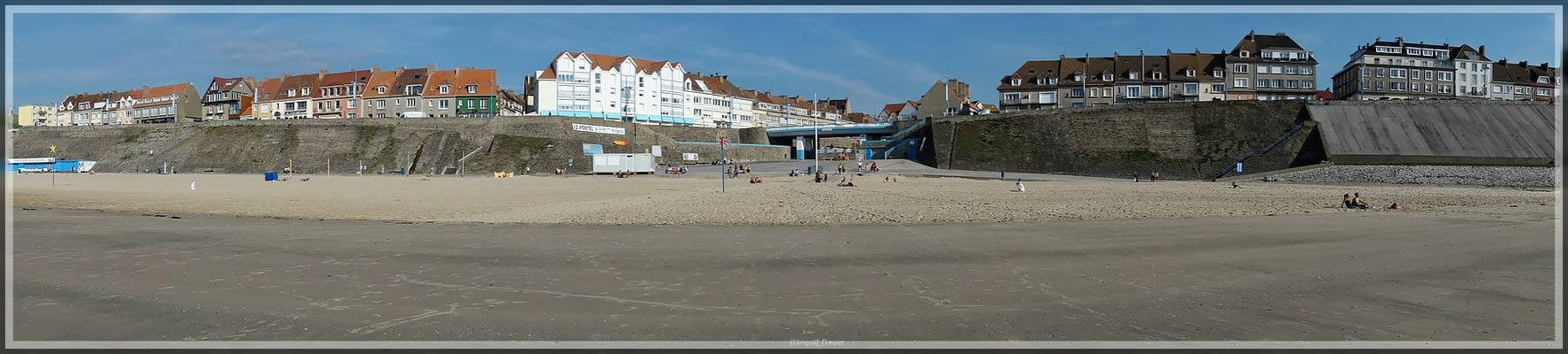 Strand bei Boulogne-Sur-Mer