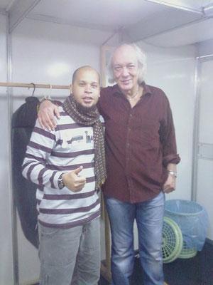 Fabrício Ramos e Erasmo Carlos