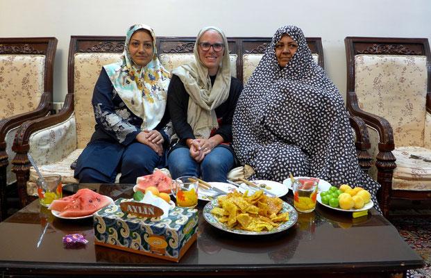 family in Isfahan