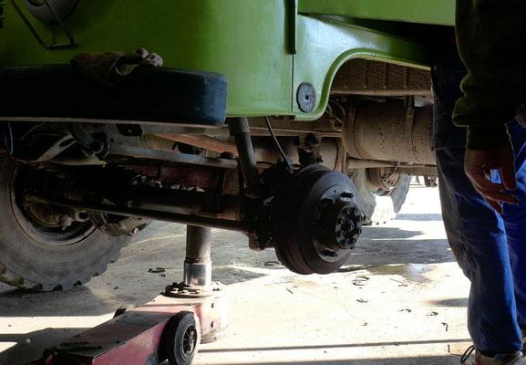 Zum ersten Mal wurde die Bremse in Griechenland geöffnet...