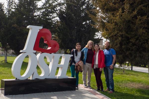 Nach einem halben Jahr sind wir zurück in Osh.