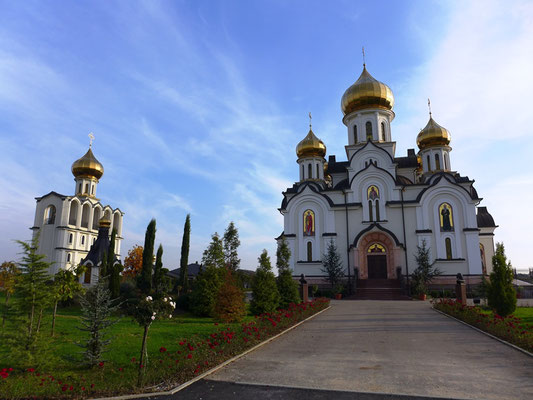 The first orthodox churches.