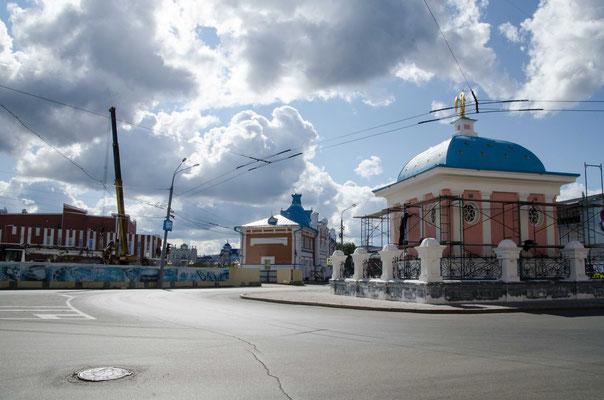 Tomsk, früher Handelshauptstadt Sibiriens