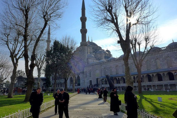 The Blue Mosque as well